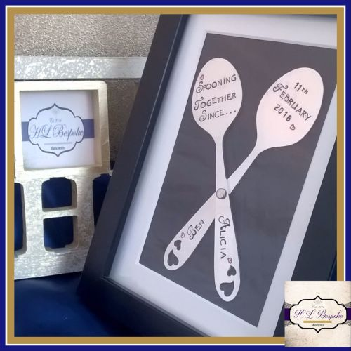 Personalised Spooning Together Since... Valentine's Gifts