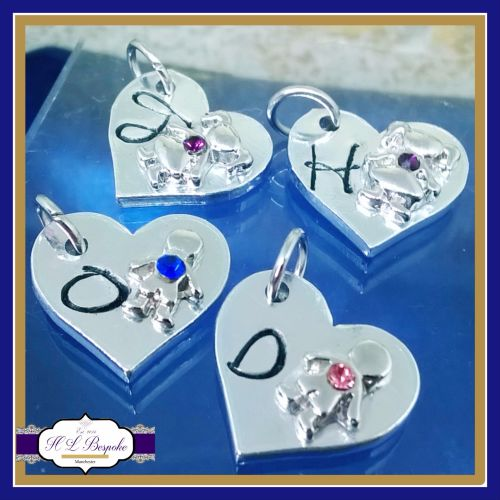 Additional Hearts For The Birthstone Bangle