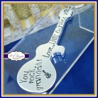 Personalised Fathers Day Bottle Opener - Personalised Guitar Bottle Opener - Grandad Father's Day Gift - Bottle Opener - You Rock Grandad