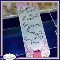 Personalised Bookmark - Custom Bookmark With Initial Charm - Bookworm Gift - Destress Gift - Book Lover Gift - Free The Mind - Freedom Quote