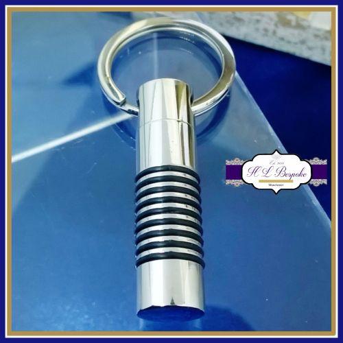 Cremation Urn Keyring - Cylinder Cremation Urn Keychain - In Memory Of Keyr