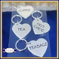 Personalised Kitchen Tags - Coffee, Tea and Sugar Canisters - Coffee Tags