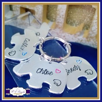 Additional Bears For Daddy Bear / Mummy Bear Keyring