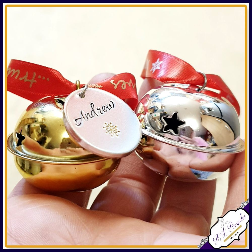Personalised Believe Bells