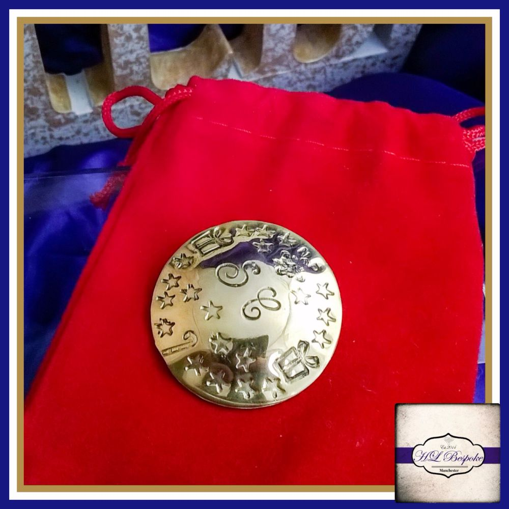 Personalised Santa's Lost Buttons