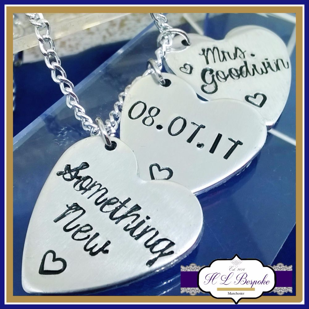 Personalised Wedding Day Items