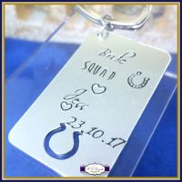 Personalised Bridesmaid Gift - Hen Party Keyring - Bride Squad Keychain - hen Party Gifts - Wedding Party Keyrings - Hen Party Favours