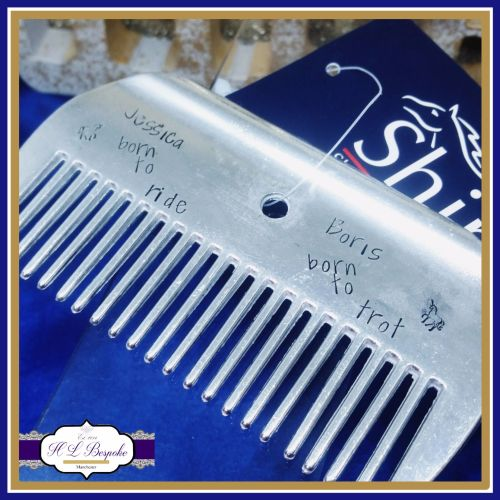 Personalised Shires Horse Comb - Large Horse Comb - Rider Gifts - Horse Rid