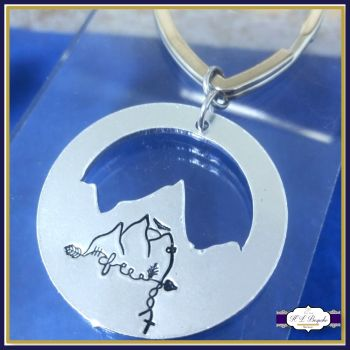 Special Personalised Mountain Keyring - Multimeaning Gift - Freedom Mountain Keyring - Healing - Protection - Cleansing - Strength - Travel