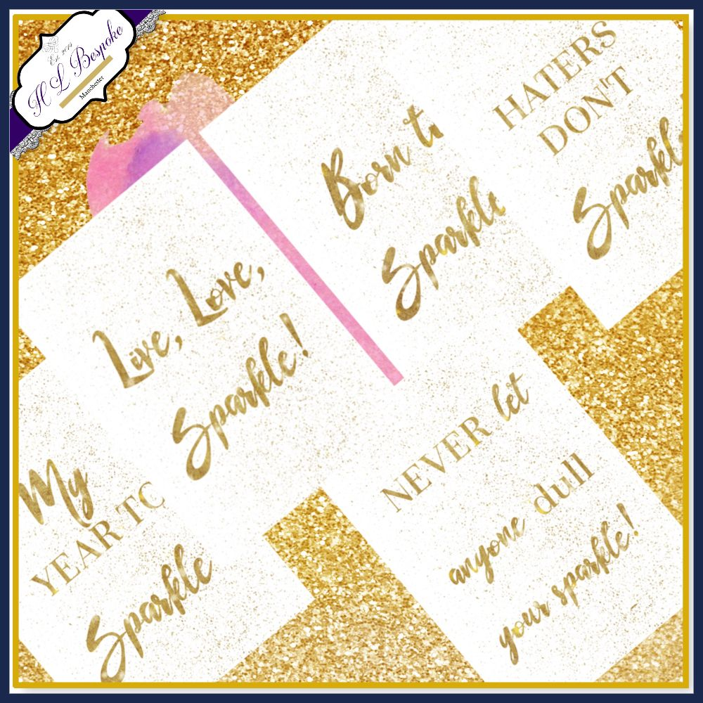 Personalised Planner Accessories