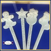 Personalised Christmas Spoon - Christmas Eve Box - Stocking Filler - Custom Spoon For Children - Cake Spoon - Hot Chocolate - Cereal