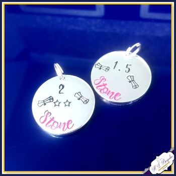 Additional Tags for Weightloss Keyring - Certificate