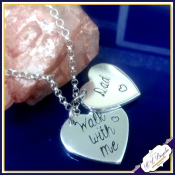 Personalised Memorial Anklet - Wedding Bouquet Charm - Wedding Day Anklet - Memorial Jewellery - Memory Anklet - Walk With Me - Wedding