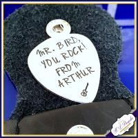 Personalised Music Teacher Guitar Pick - Personalised Music Teacher Gift - Teacher Gift - End Of Year Gift - Musician Gift - Custom Plectrum