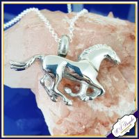 Horse Cremation Urn Jewellery - Horse Cremation Urn Pendant - Horse Urn - In Memory Of Horse Jewellery - Personalised Pet Necklace