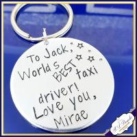 Personalised Taxi Driver Keyring - Gift for Taxi Driver - Taxi Driver Gift - Favourite Taxi Driver Keyring - Keychain For Taxi Man Gift