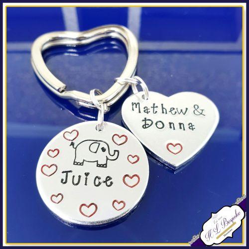 Elephant Juice Keyring - Valentines Keyring - Gift For Him - Gift For Her -