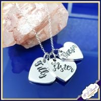 Personalised Godsister Gift - Godsister Pendant - Godsister Necklace - Godmother Jewellery - Thank You For Being My Godsister - Godsister