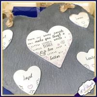 Personalised Friendship Plaque - Hanging Slate Family - Sentimental Friend Gift - Best Friend Sign - Slate Wall Hanging - Thank You Gift