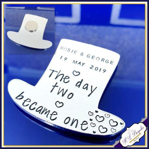 Wedding Date Reminder Gift - Wedding Date Gift - Wedding Date Magnet - Cust