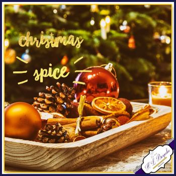 Christmas Spice Soy Wax Melts - Spicy Christmas Wax Melts Highly Scented Natural Wax Tarts - Cinnamon Melts - Vegan & Eco Friendly Melts