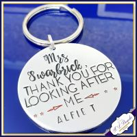 Personalised Teacher Keyring Gift - Gift For Teacher Who Made A Difference - End Of Year Gift - Teacher Gift - Thank You Teacher - Every Day