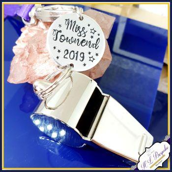 New Teacher Whistle - Graduate Teacher Gift - Personalised Teacher Whistle - Choose Lanyard Colour - Teacher Gifts - Personalised Teacher Gift - TA Gi