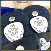 You Rock Guitar Pick - You Rock Grandad - Father's Day Gift - Godfather Gift - Uncle Gift - Personalised Plectrum - Custom Guitar Pick