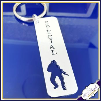 Personalised Gift For Police Officer - Police Officer Keyring - Newly Qualified Police Gift - Graduate Police Gift - PCSO Gift - Sergeant