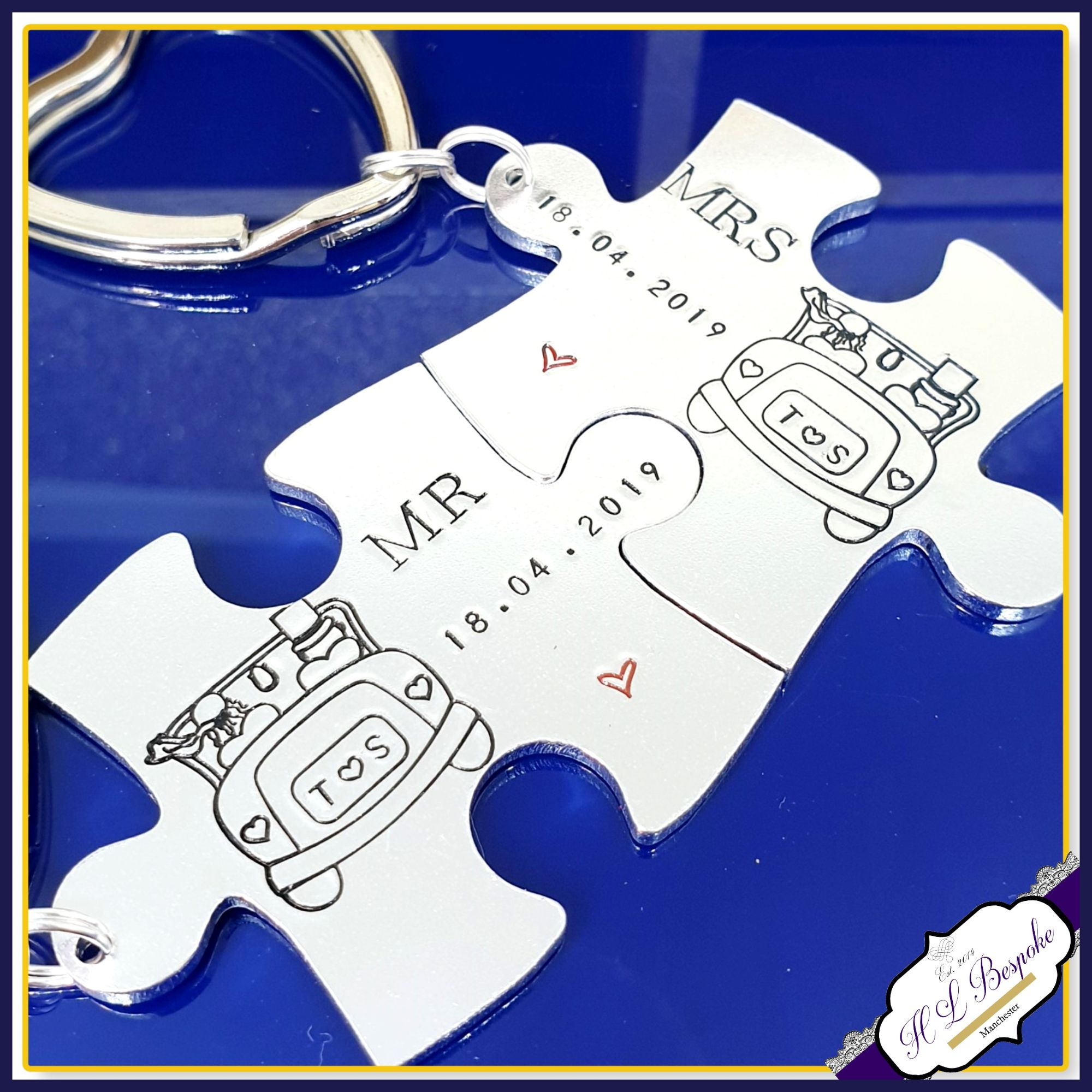 Wedding Puzzles with Car