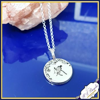 Personalised Dainty BSL Initial Necklace - Pendant BSL Gift For Her - BSL Jewellery - Unique Initial Necklace - British Sign Language Gift