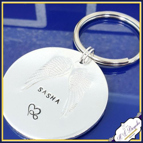 Pet Memorial Keychain - Pet Memorial Keyring - Pet Memorial Gift - In Memor