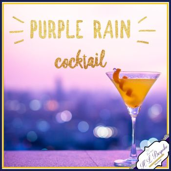 Purple Rain Cocktail Scent Soy Wax Melts - Highly Scented Fresh Fruity Wax Tarts - Cocktail Scented Wax Melts - Vegan Friendly Wax Melts