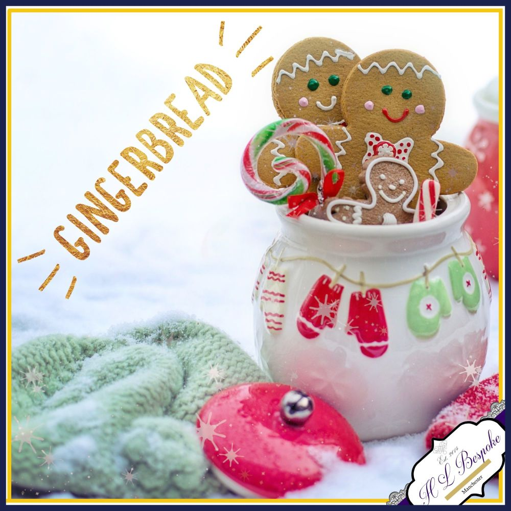 Yummy Gingerbread Scented Soy Wax Melts - Highly Scented Christmas Wax Tart