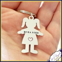 Additional Little People Tags for This Mummy/This Daddy etc Keyrings