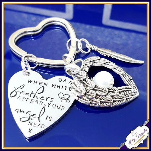Memorial Keychain Bereavement Gift Hummingbirds Keychain Gift,Loss of Loved One Gift