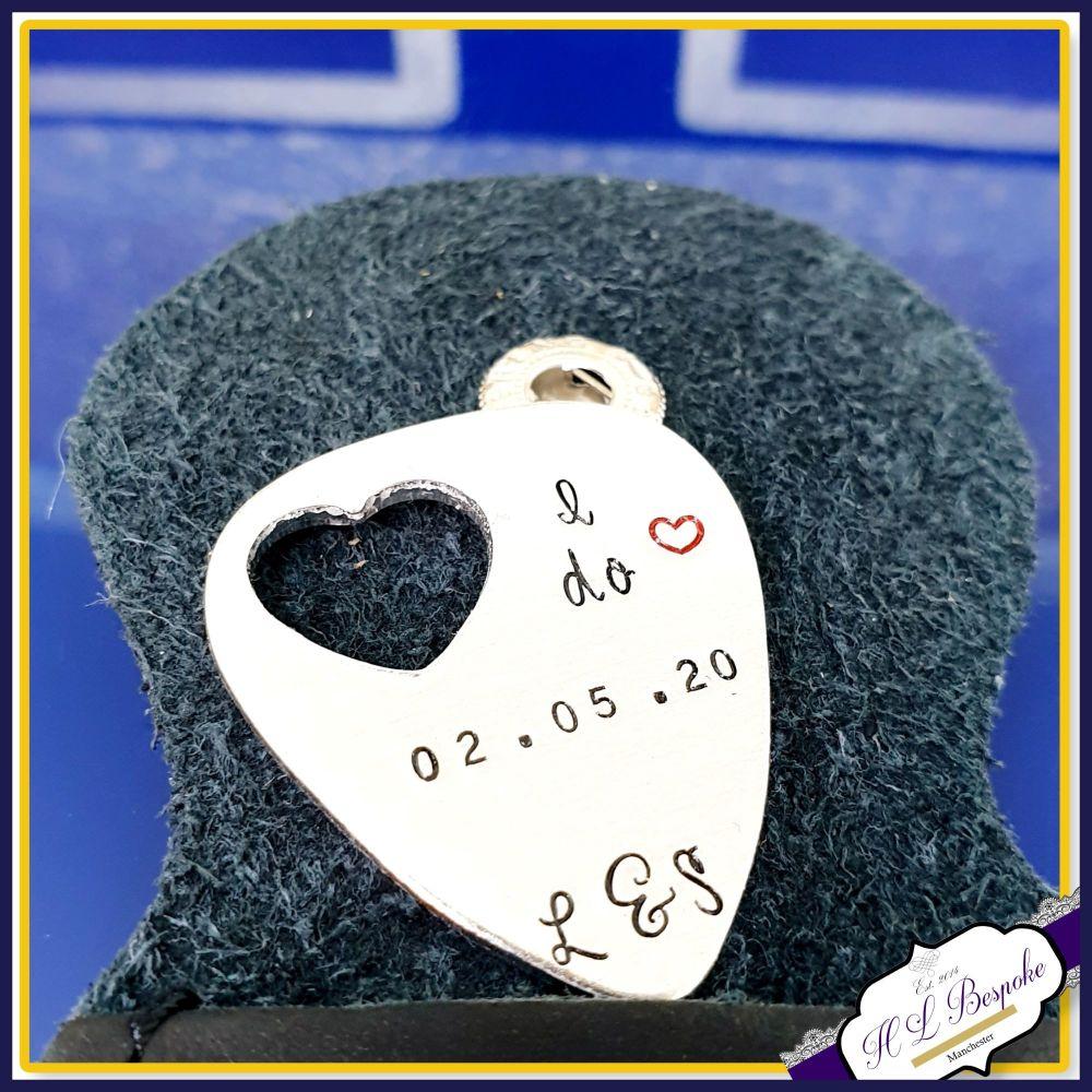 Wedding Guitar Pick - Music Groom Gift - Wedding Day Gift - Music Wedding G