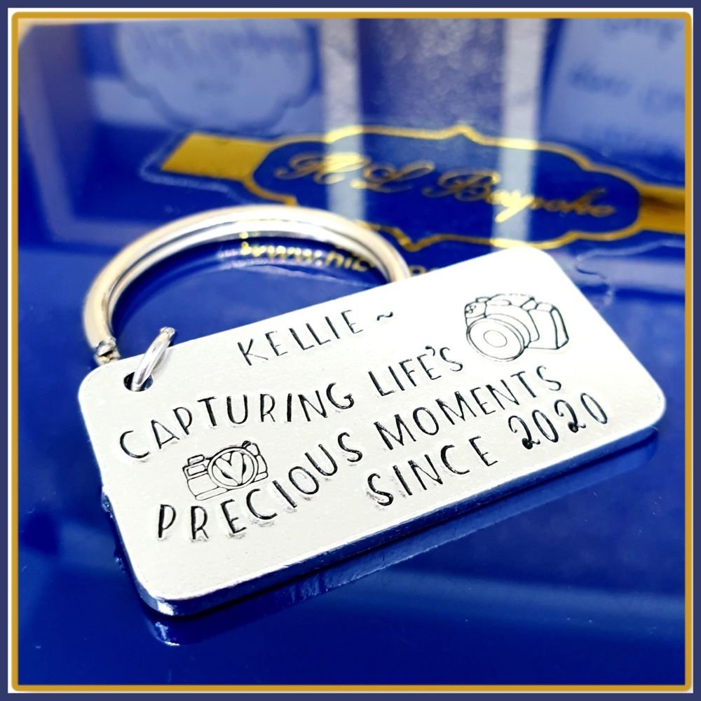 Personalised Gift For Photographer - Graduate Photographer Since Gift - Cap