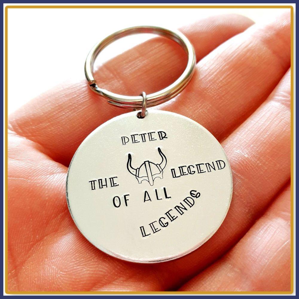 Personalised Viking Legend Gift - Gift For Him Viking Lover - Viking Legend