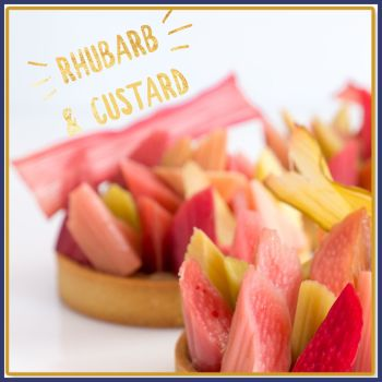 Rhubarb & Custard Soy Wax Melts - Highly Scented Sweet Rhubarb Wax Tarts - Candy Boiled Sweet Vegan Friendly Mineral Wax Melts