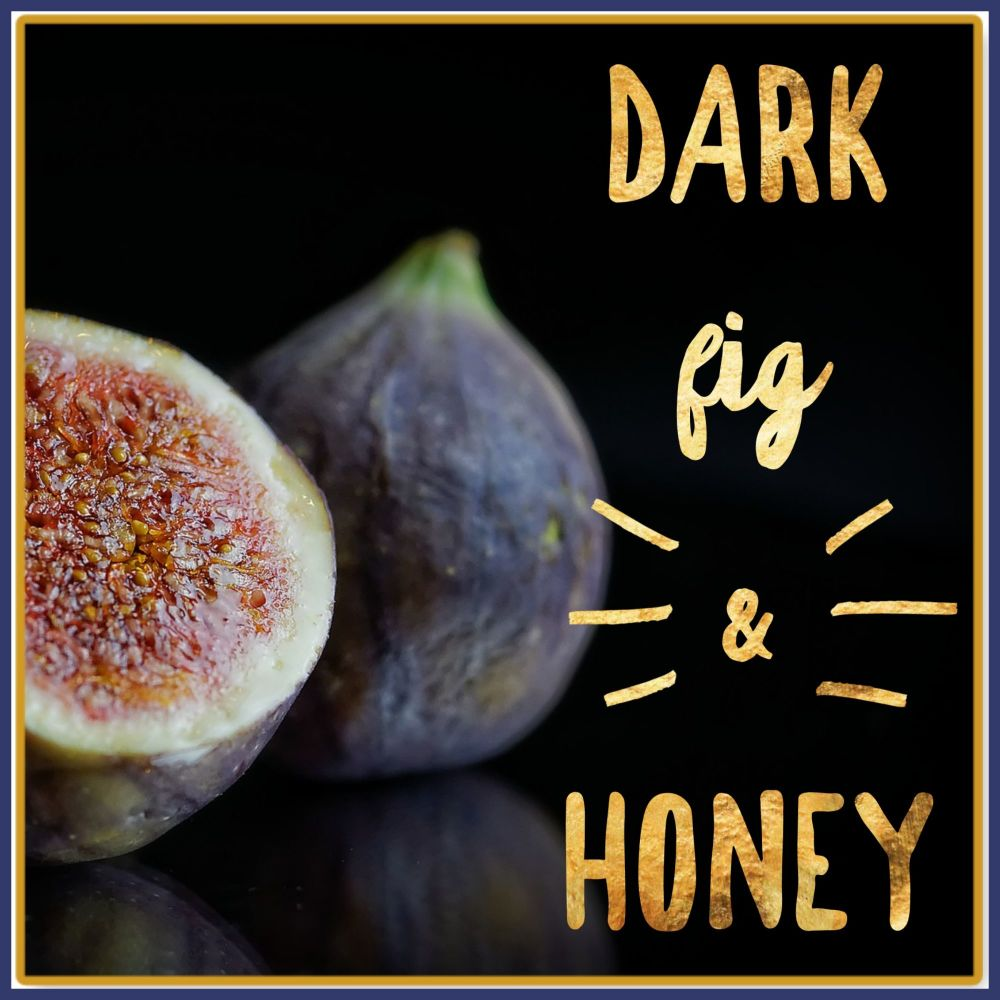 Dark Fig & Honey Soy Wax Melts - Honey Highly Scented Rich Scented Wax Tart