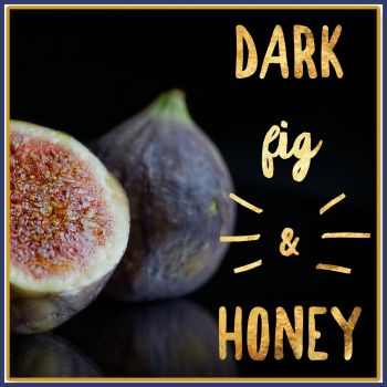 Dark Fig & Honey Soy Wax Melts - Honey Highly Scented Rich Scented Wax Tarts - Fruity Honey Scented Wax Melts - Vegan Friendly Wax Melts