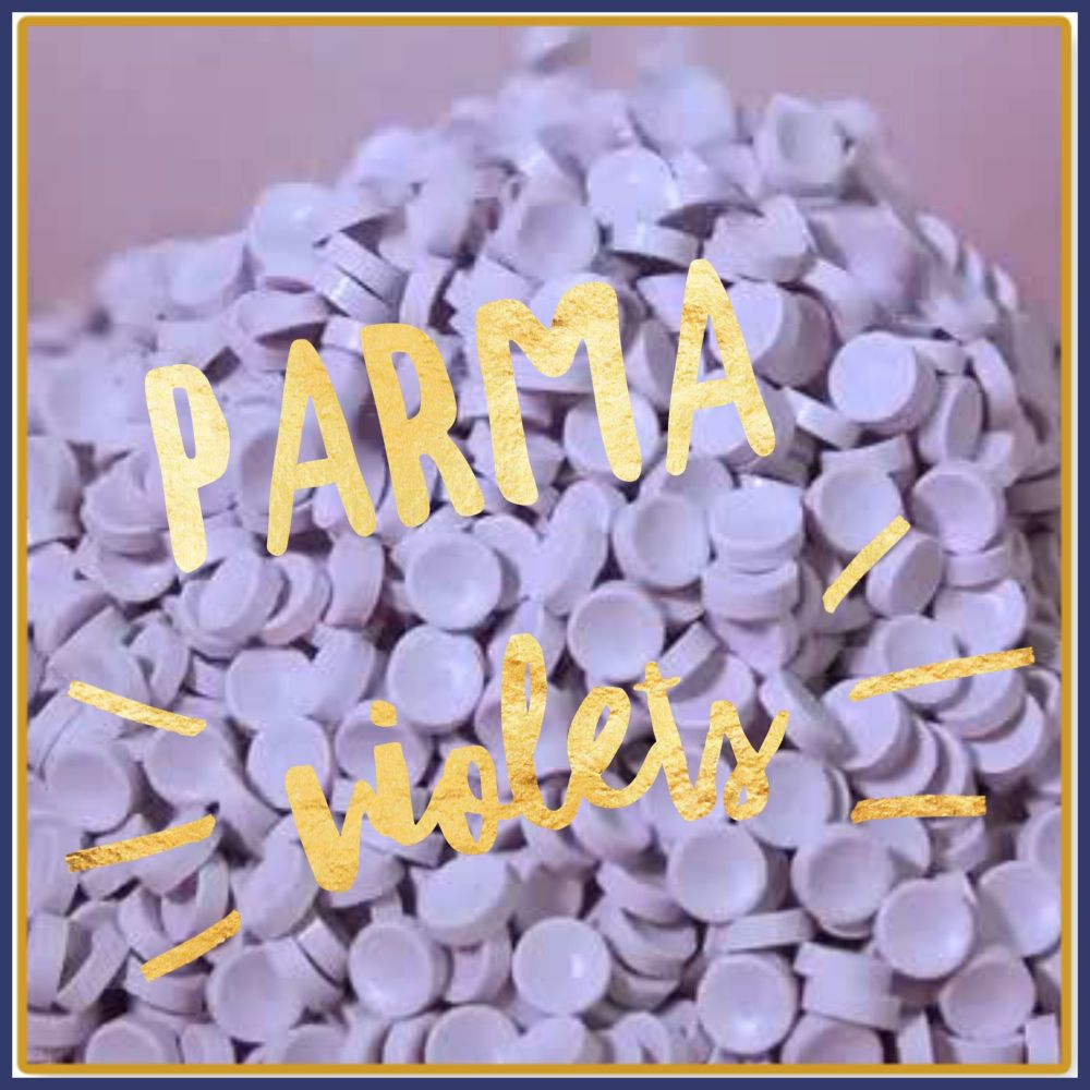 Parma Violets Soy Wax Melts - Highly Scented Sweet Wax Tarts - Parma Violet