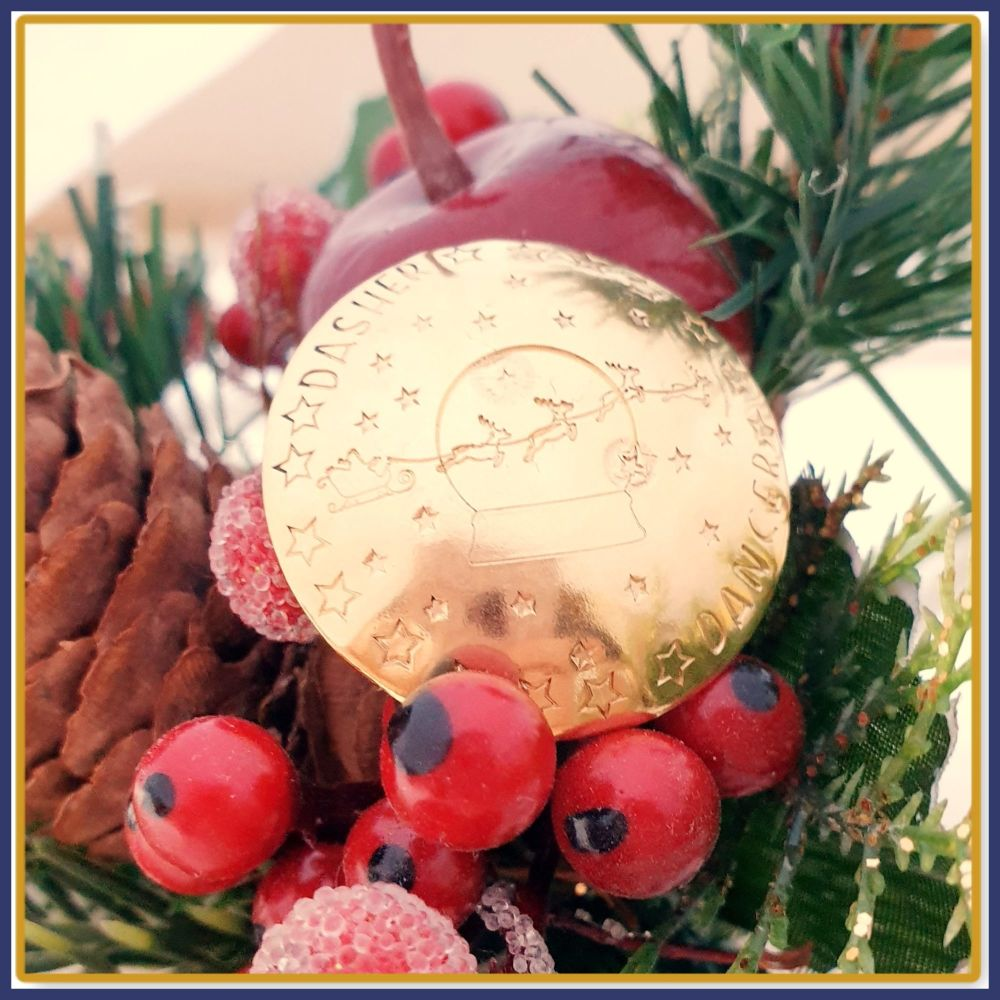 Fully Personalised Santa's Lost Button - A Truly Magical Gift & Christmas t