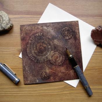 Ammonites I card