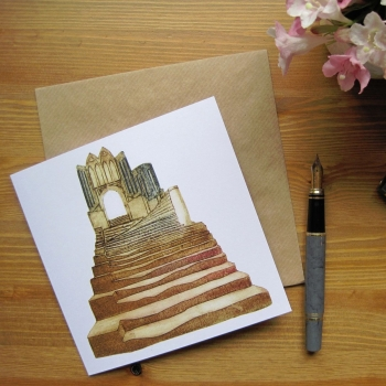 Cathedral Steps card