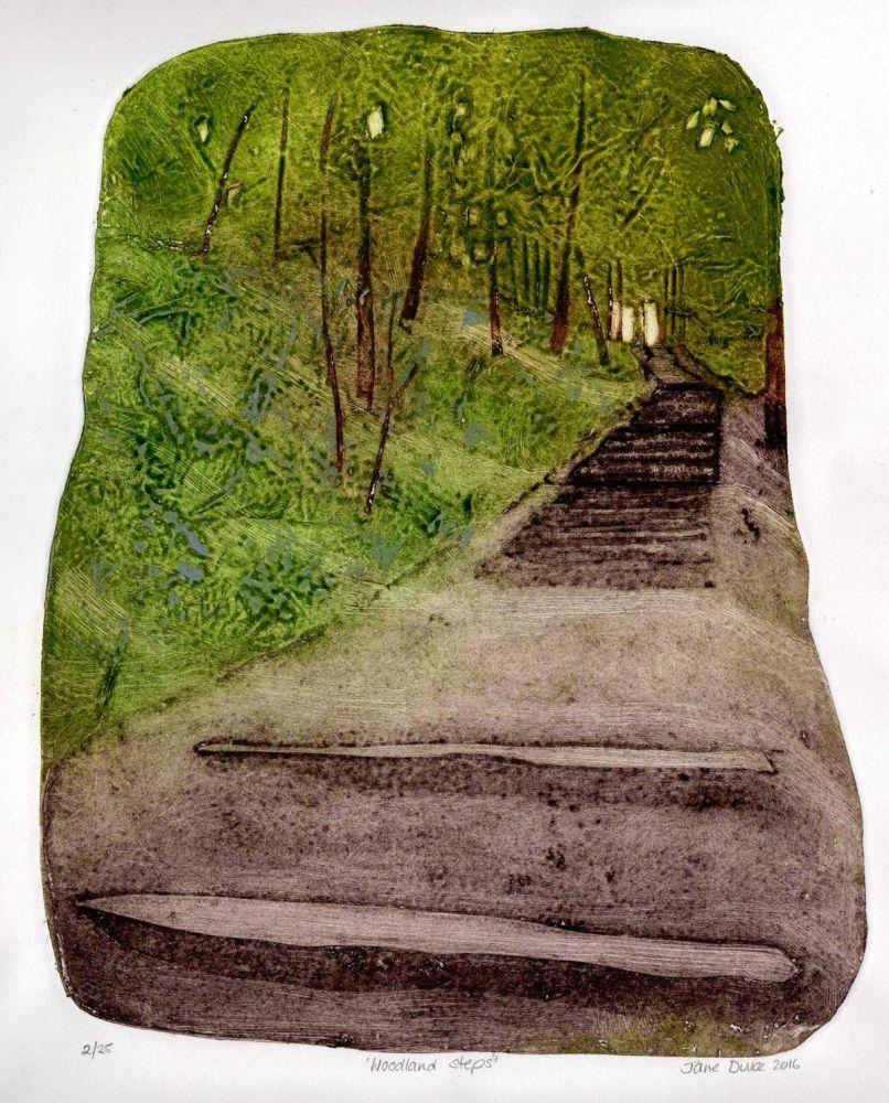 Woodland Steps (2/25)