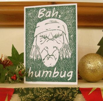 Bah Humbug! Hand made card