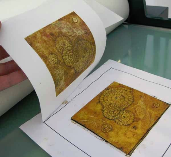 printing a collagraph