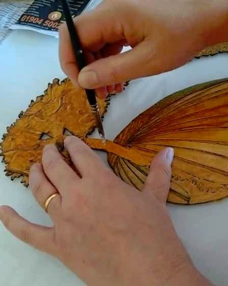 repairing a collagraph plate